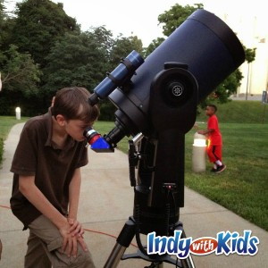 holcomb telescope indy with kids