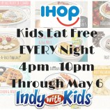 Kids Eat Free at IHOP Every Night
