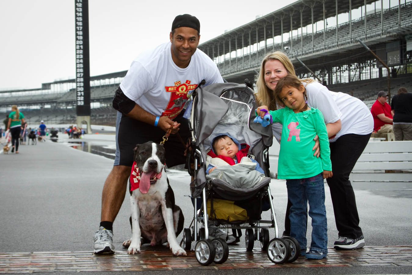 Mutt Strut at the Indianapolis Motor Speedway