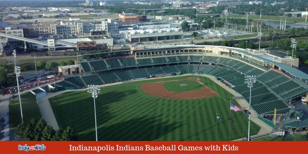 Indianapolis Indians Baseball Games with Kids