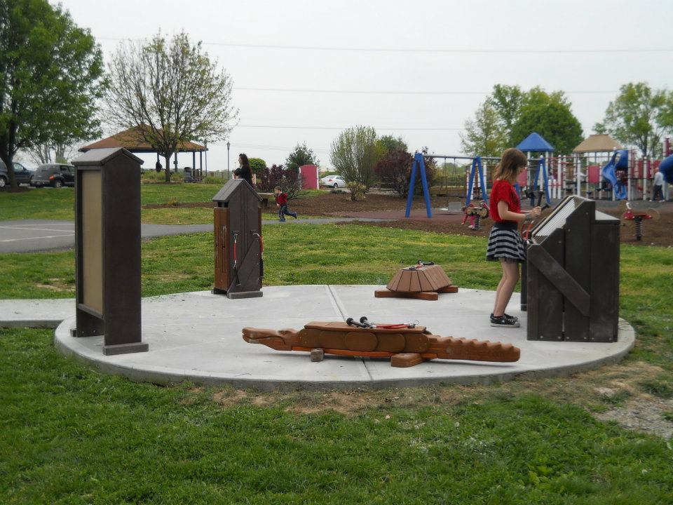 Independence Park Greenwood Indiana Inclusive park