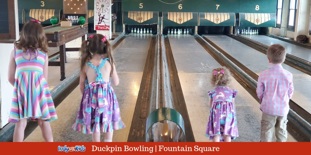 Duckpin Bowling with Kids | Fountain Square