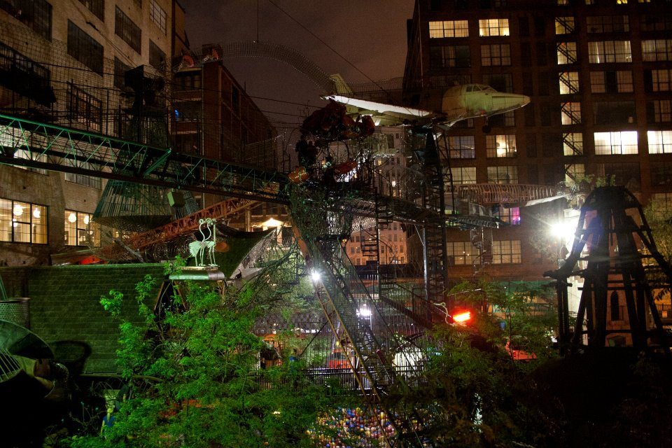The City Museum in St. Louis, Missouri