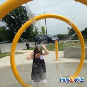 ... Municipal Gardens Splash Pad Indianapolis Kids