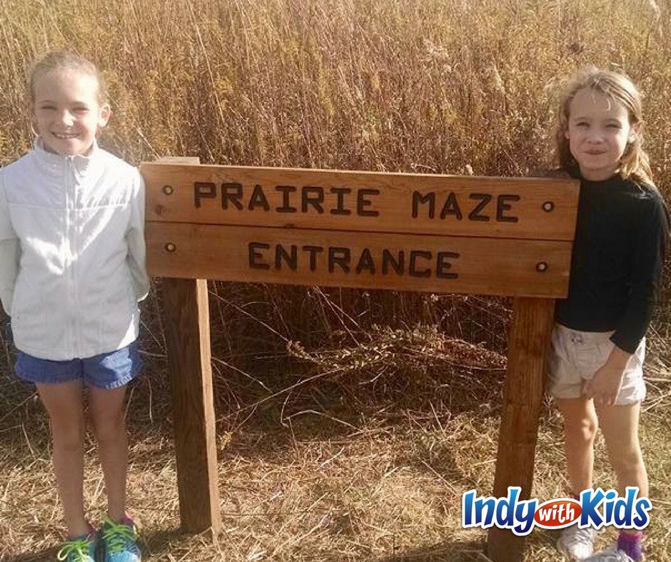 Prairie Grass Maze at McCloud Nature Park