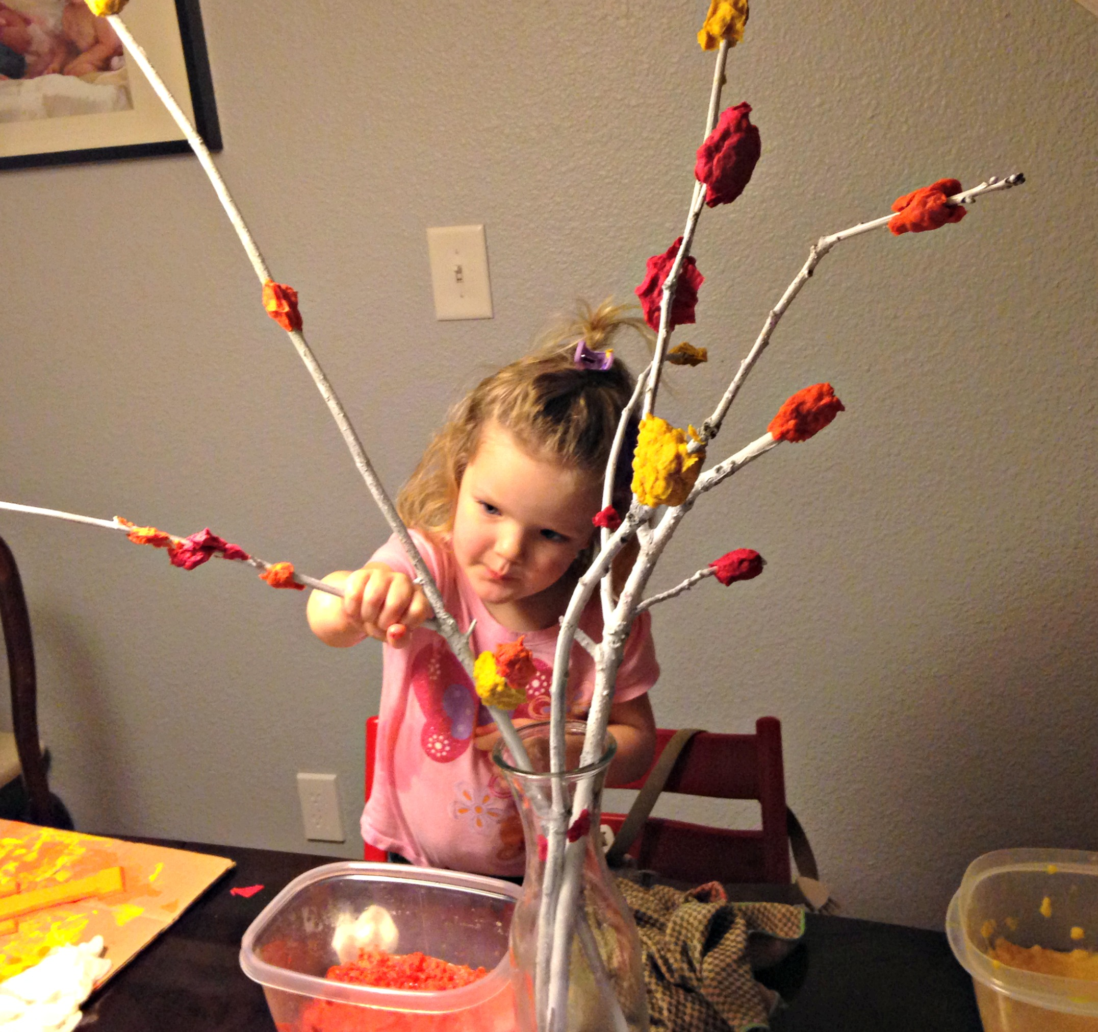 Thanksgiving Centerpieces Kids Can Make | $10 or Less