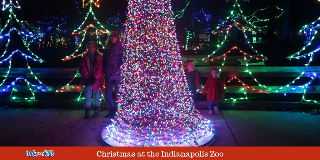 Christmas In Indiana.Christmas At The Indianapolis Zoo Lights Animals And