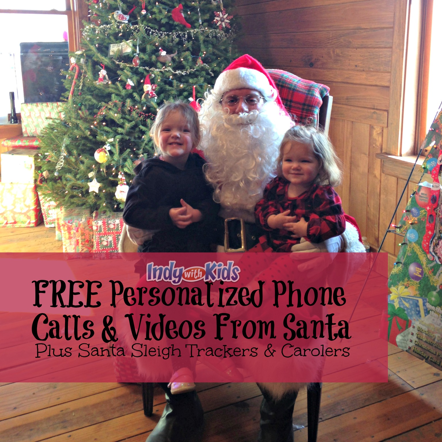 Free Phone Calls and Video Messages from Santa