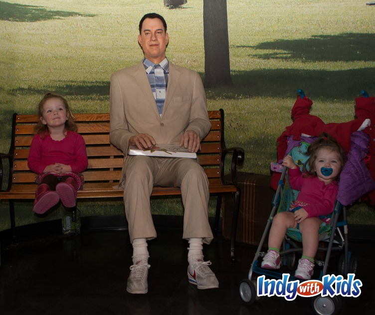 hollywood wax museum gump
