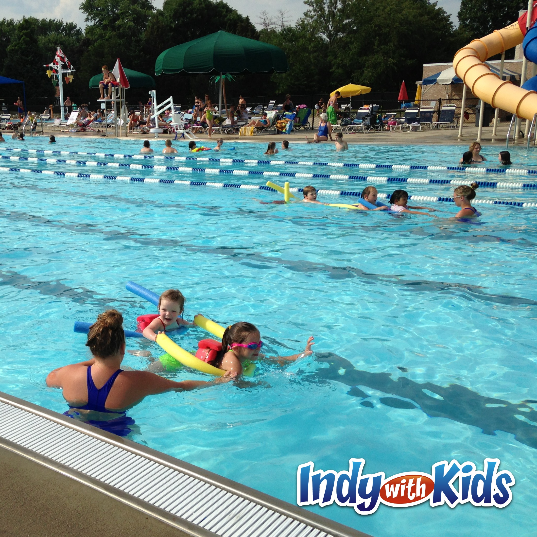 Free Water Safety Classes & Pool Admission | Indy Parks