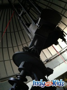 holcomb telescope with kids