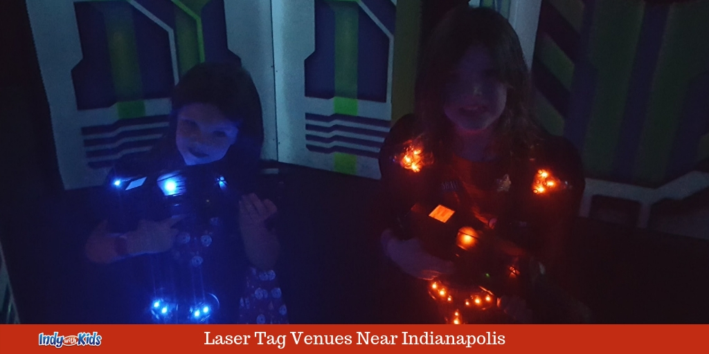Laser Tag Places in and Near Indianapolis