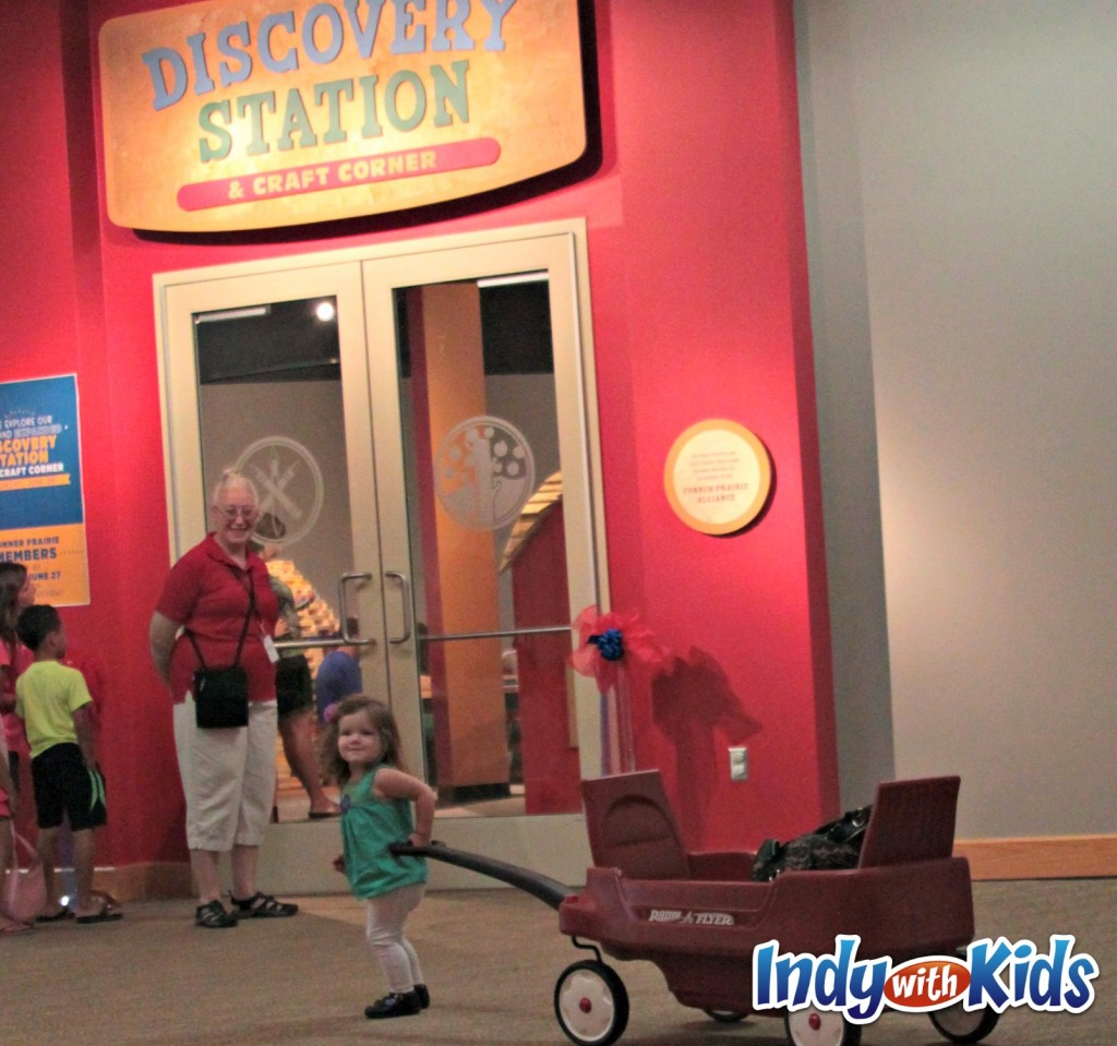 conner prairie discovery station indy with kids