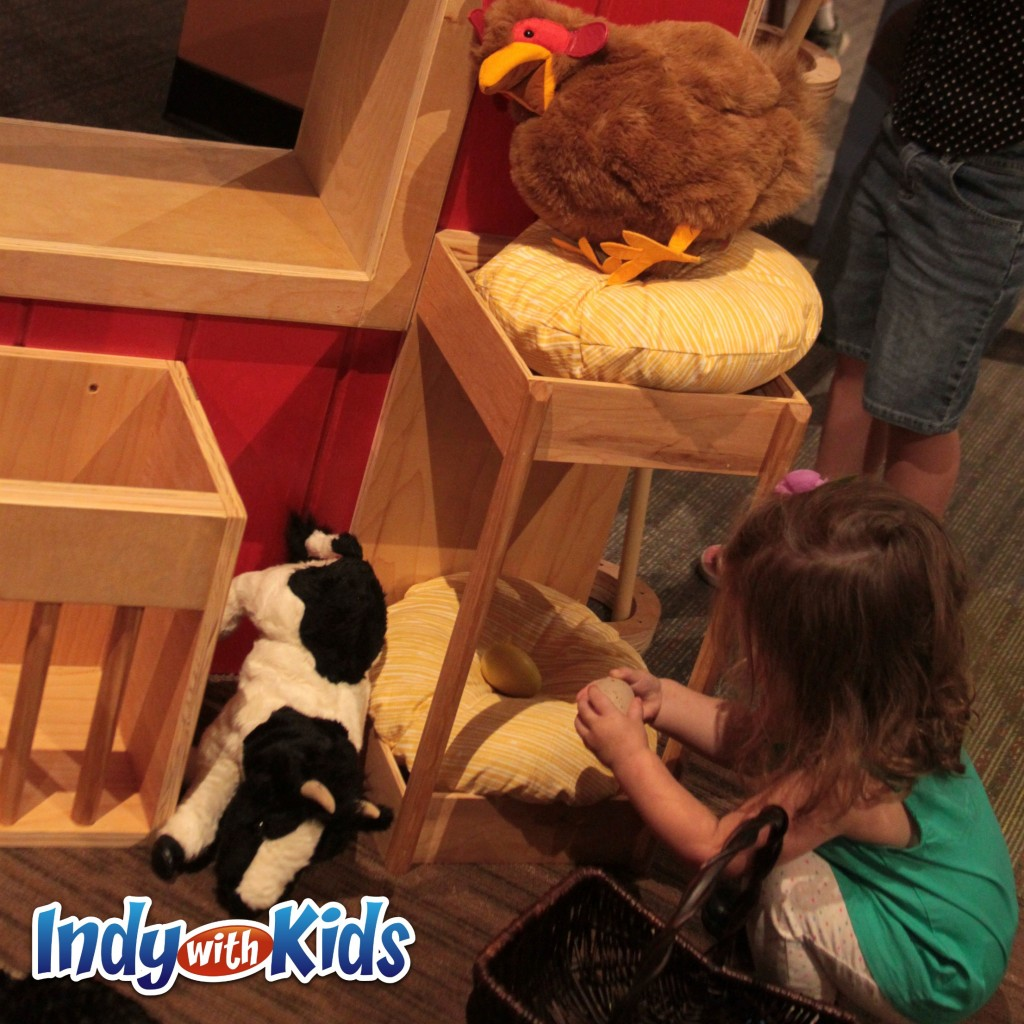 conner prairie with kids imagination station indoors
