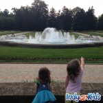 fountains at garfield park sunken gardens indianapolis with kids