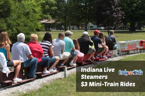 indiana live steamers mini train rides