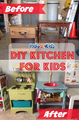 diy kitchen for kids - Diy Kids Kitchen