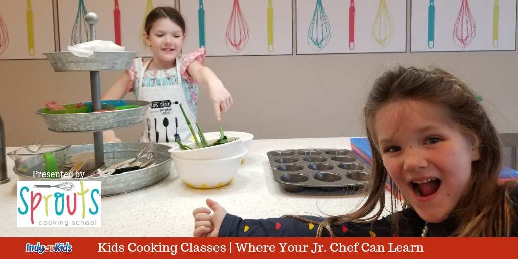 sprouts cooking school for kids kitchen