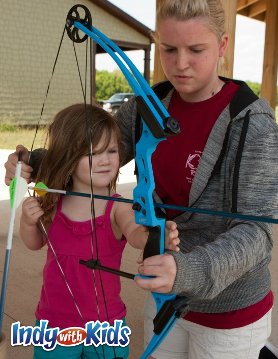 Archery with Kids in Indianapolis