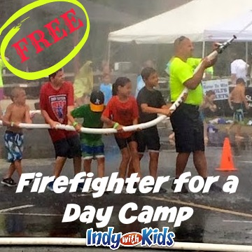 Firefighter for a Day Camp | Carmel Fire Department | FREE