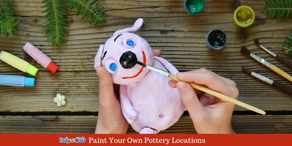 Paint Your Own Pottery Studios for Kids