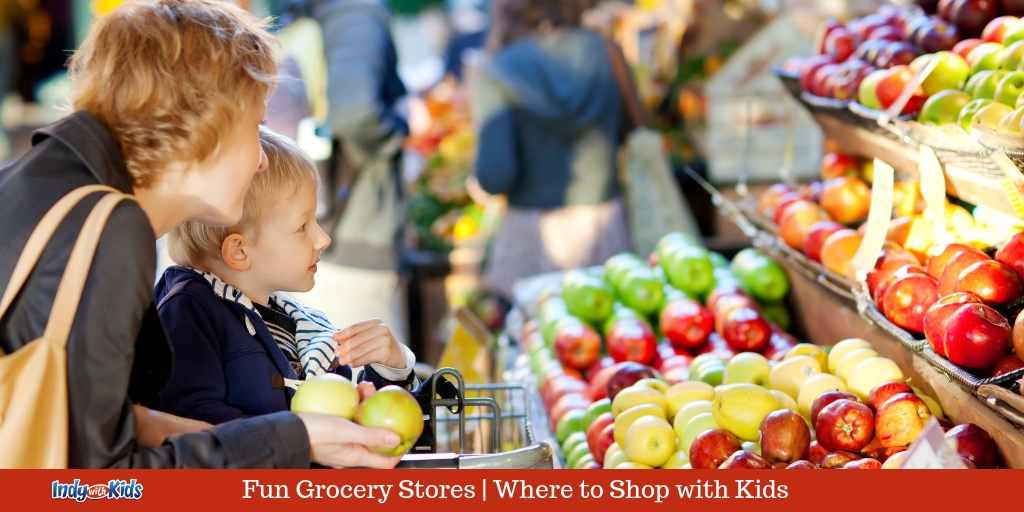 Family Friendly Grocery Stores That Kids Love