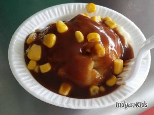 beef sundae indiana state fair food