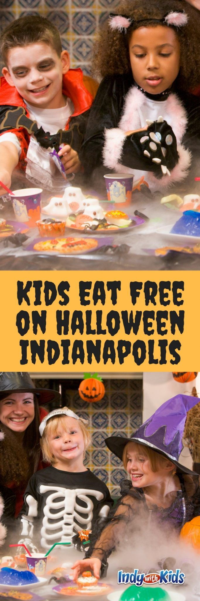 where kids eat free on halloween in indianapolis | 2018