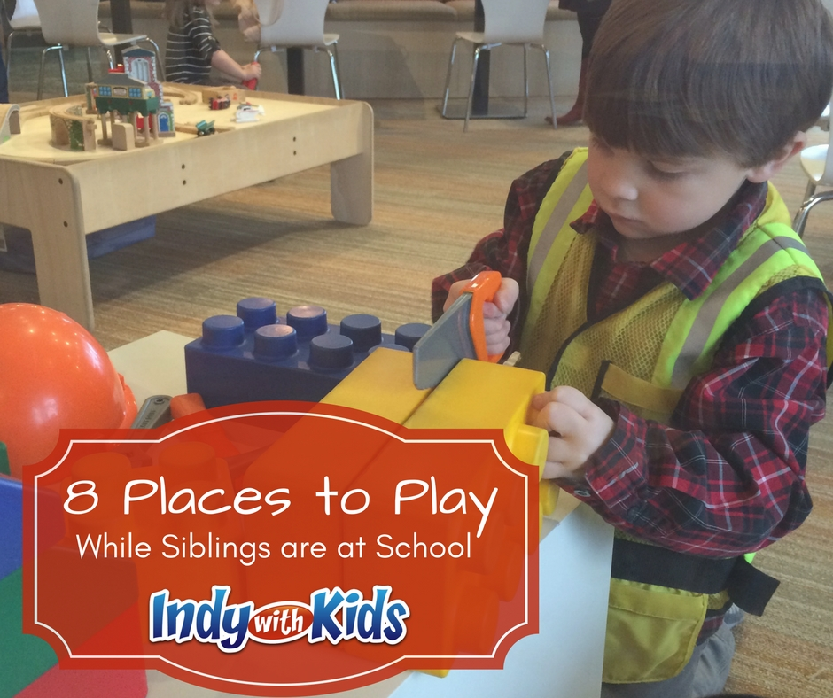 8 Places to Play in Indy while Siblings are in School