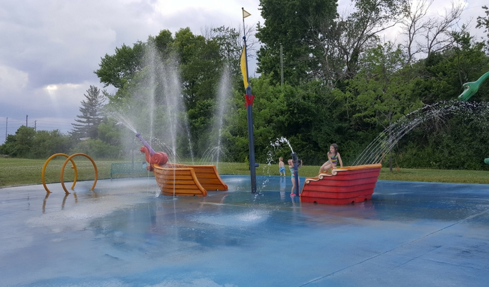 Splash Pads That Are Open Early for 2018