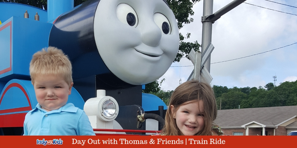 Day Out with Thomas and Friends Train Ride