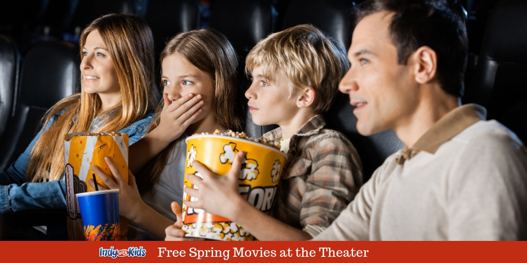 Free Spring Movies at Goodrich Theaters