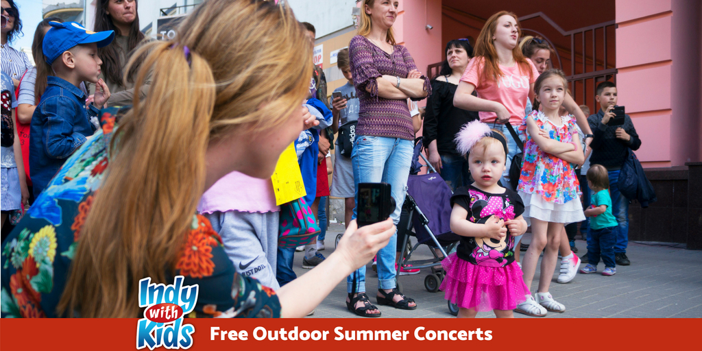 Free Outdoor Summer Concerts in Indy
