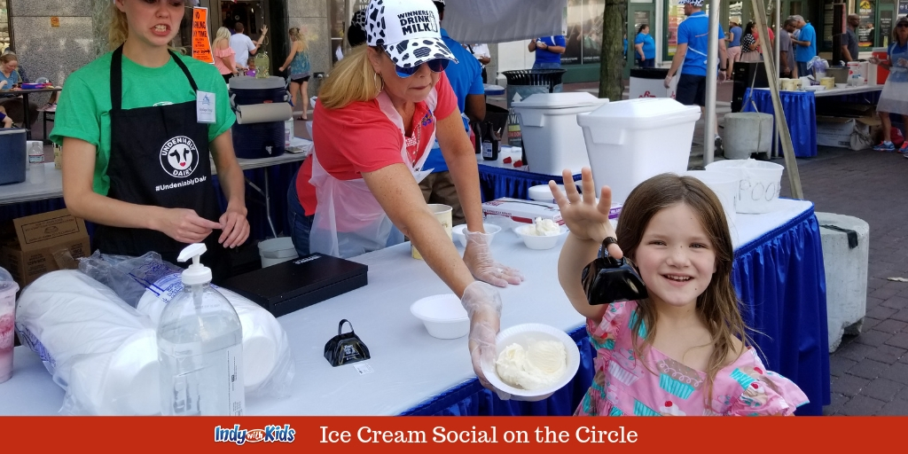 Ice Cream Social on Monument Circle | $3 Build Your Own Sundaes