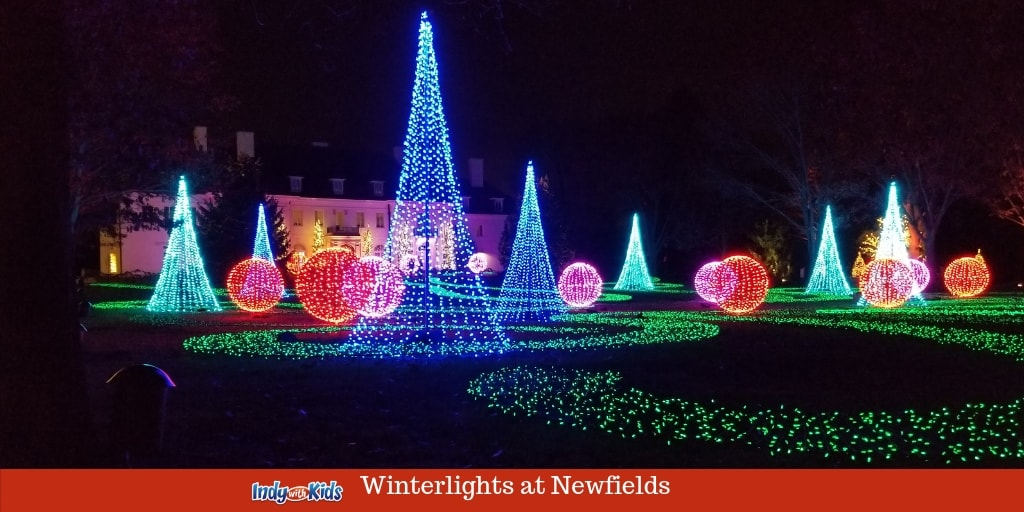 Christmas Lights Indianapolis 2020 Winterlights at Newfields | Walk Through a Light Filled Winter