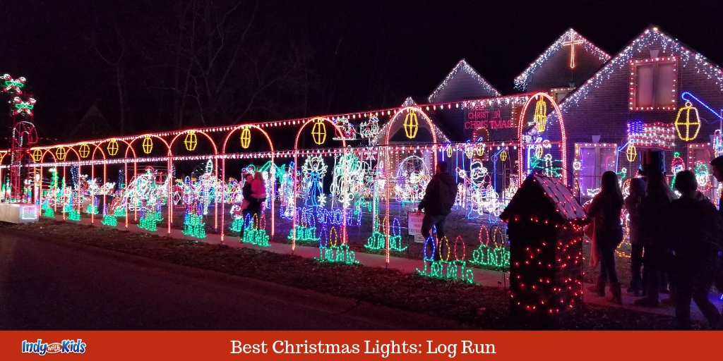 Christmas In Indiana.Best Christmas Lights In Indianapolis Log Run
