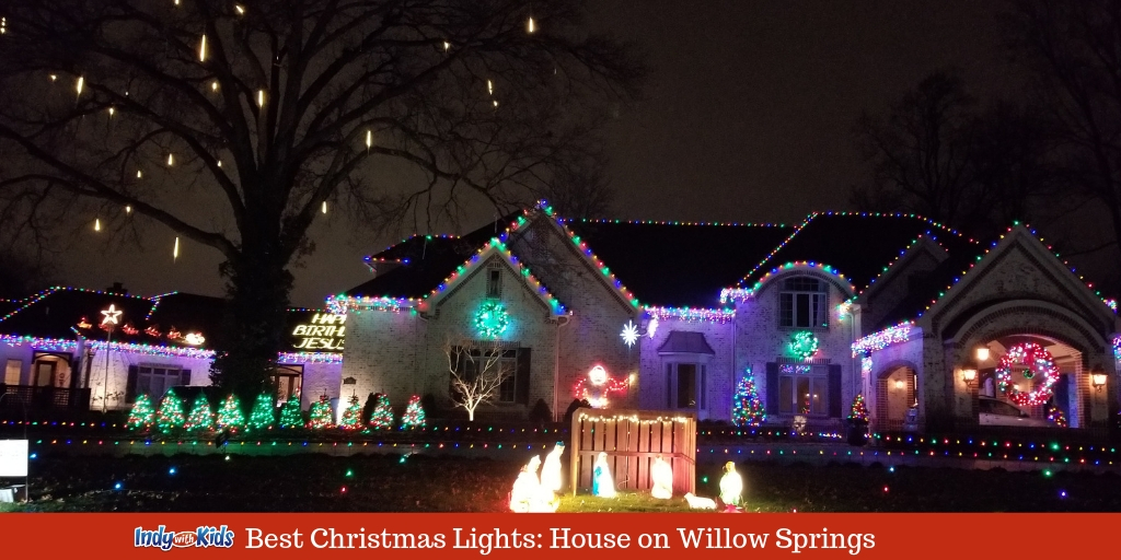 Christmas In Indianapolis.Best Christmas Lights In Indianapolis Willow Springs