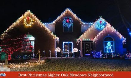 Best Christmas Lights in Greenwood: Oak Meadows Neighborhood