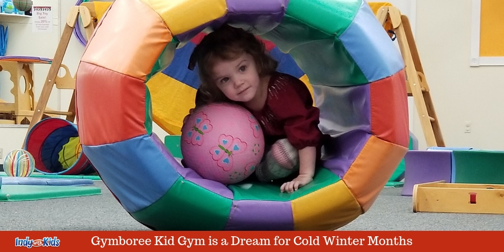 Gymboree Indoor Playground is a Dream for Winter Fun with Toddlers