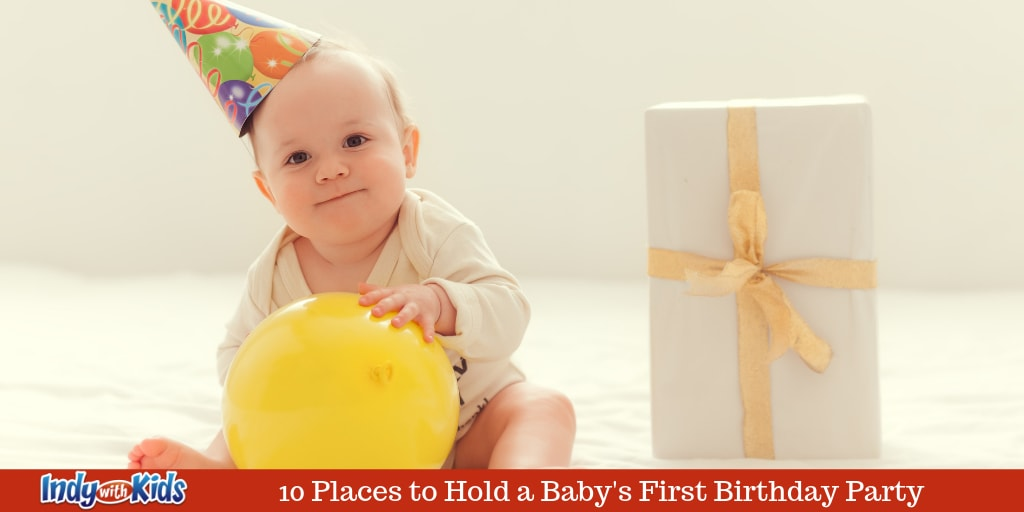 10 Places to Hold Baby's First Birthday Party