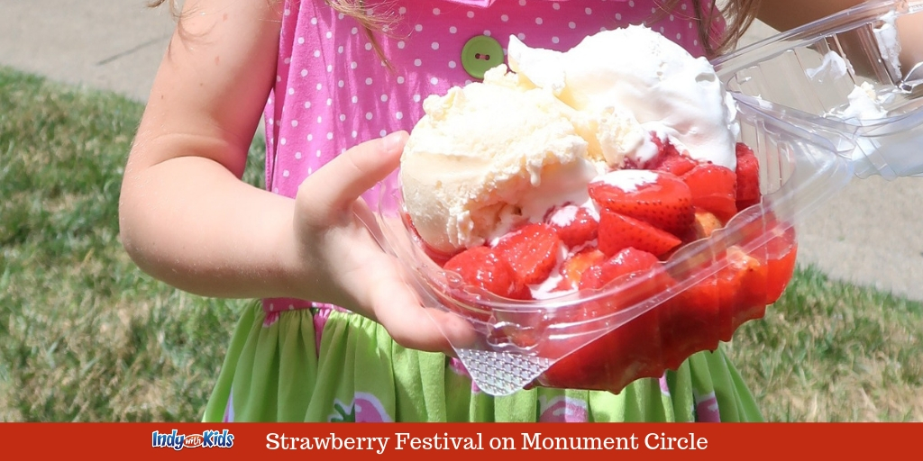 Indianapolis Strawberry Festival   Monument Circle