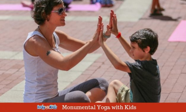 Monumental Yoga Event with Kids