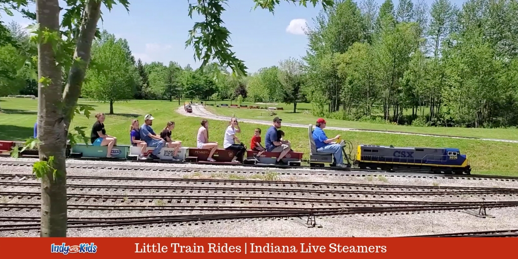 Indiana Live Steamers at Johnson County Park | Indy with Kids