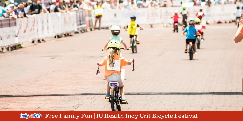 Free Family Fun at the IU Health Indy Crit Bicycle Festival
