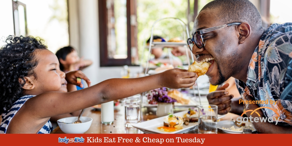 Where Kids Eat Free On Tuesday In