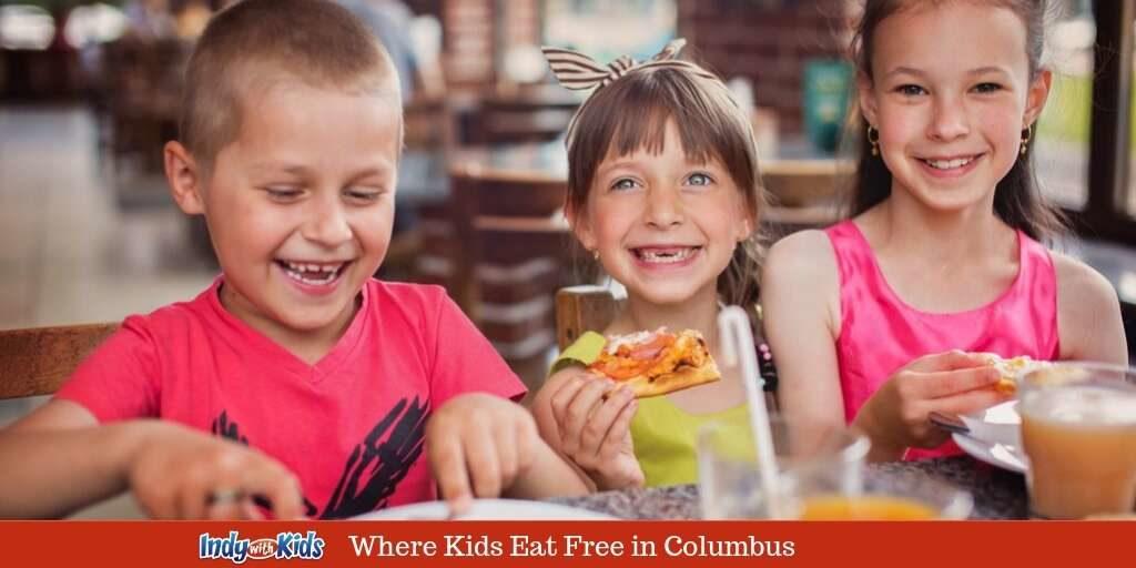 Columbus Indiana Kids Eat Free