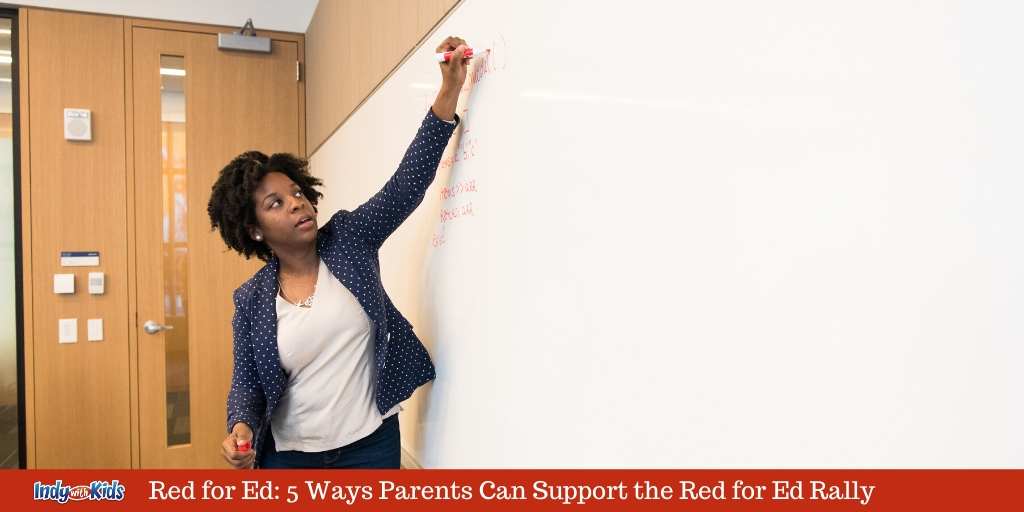 Red for Ed: 5 Ways Parents Can Support the Red for Ed Rally
