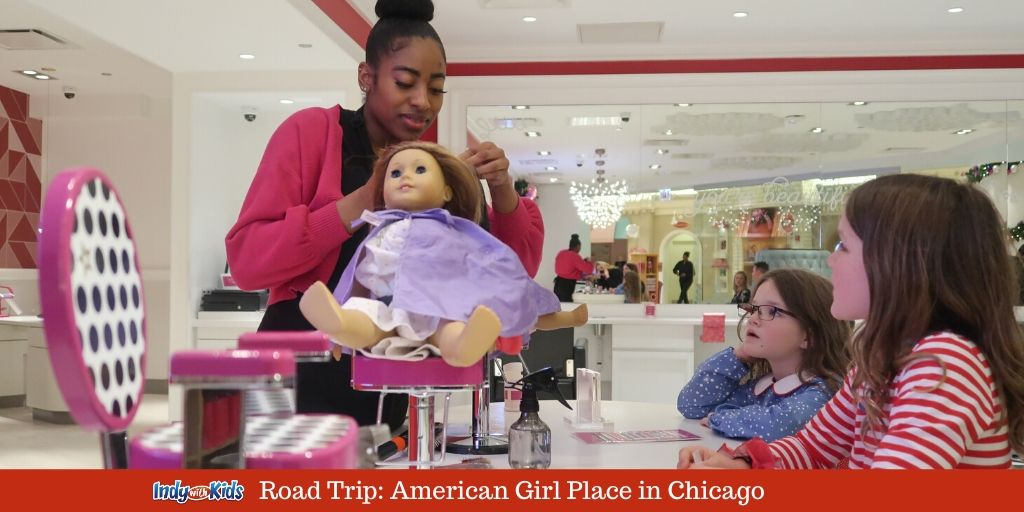 The American Girl Store At Water Tower Place In Chicago