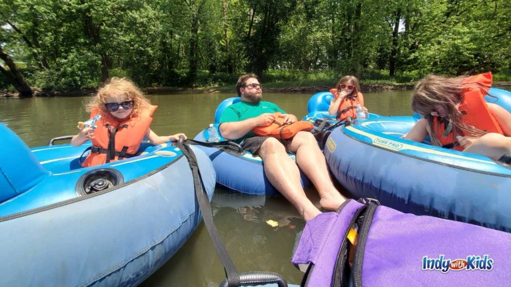 Indiana Tubing Trips Where To Go Inner Tubing In Indiana